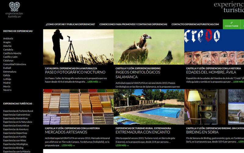 diseño web wordpress ranna consultoria experiencias turisticas