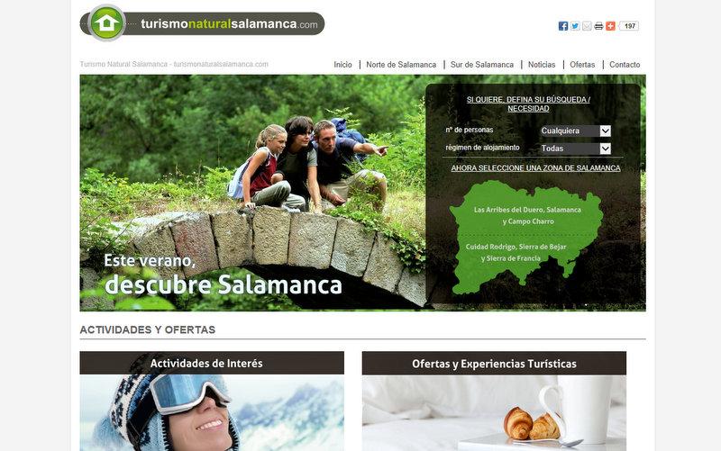 diseño web wordpress ranna consultoria turismo natural salamanca